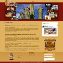 Beer and Wine Distributors of Arizona website