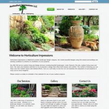 A demo landscaping website design image
