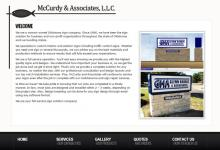 McCurdy Associates website image