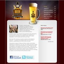 Beer Distributors of Oklahoma website image