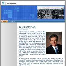 Samm Hammons, PC website image