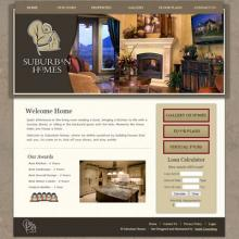 Suburban Homes website image