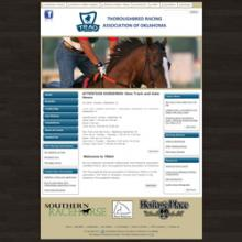 Thoroughbred Racing Association of Oklahoma website image